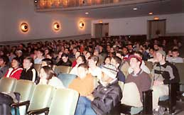 Chicago-area students at the 2003 Arnold Ross Lecture
