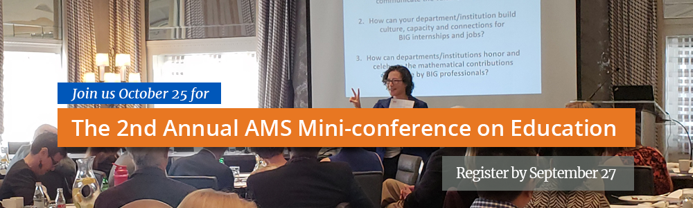 AMS Mini-conference on Education