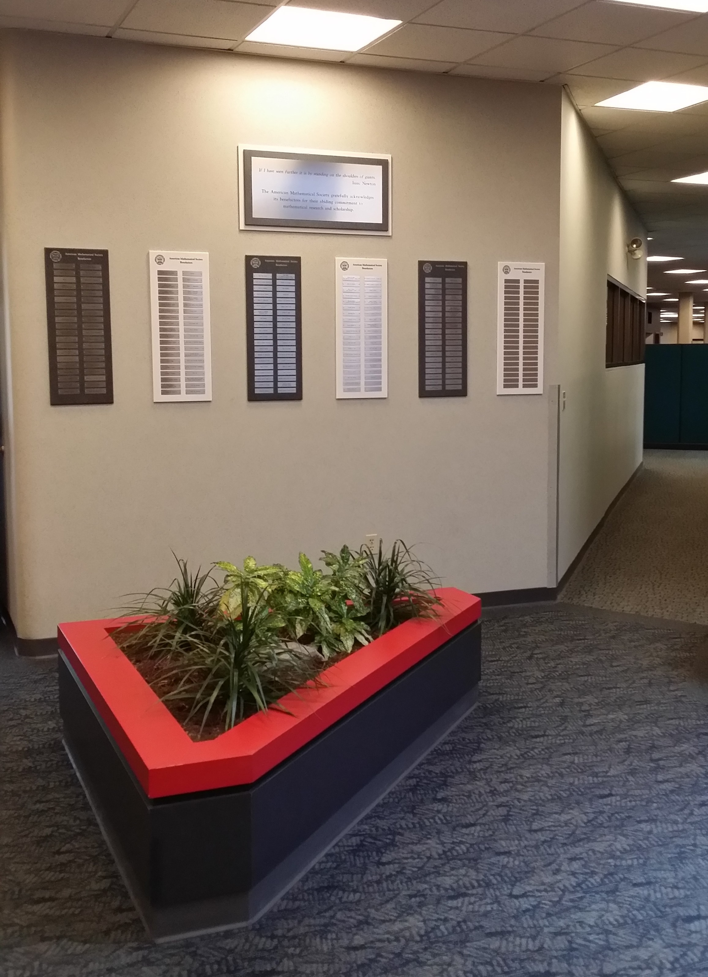 AMS Donor Wall of Honor portrait