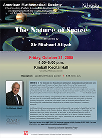 View lecture poster