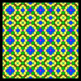 Tiling inspired by the Thue-Morse sequence due to Mark Dow