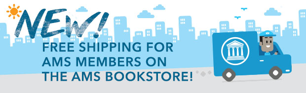 NEW! Free Shipping for AMS Members on the AMS Bookstore