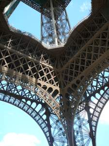 Eiffel Tower, from below