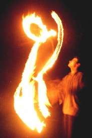 juggling torches