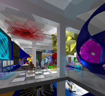 Rendering of Museum of Mathematics