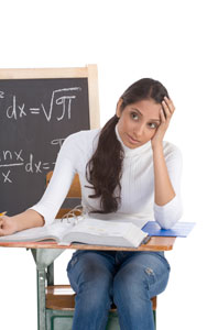 girls and math anxiety