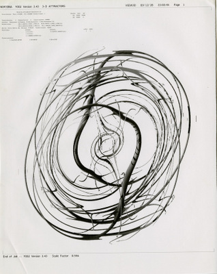 Printout of attractor