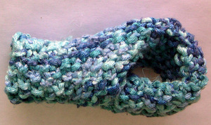 Knitted Klein bottle