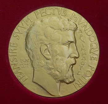 Front of Fields Medal