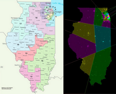Illinois congressional districts