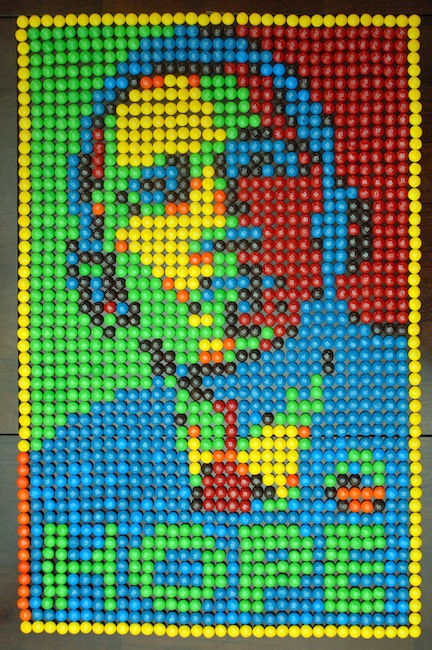 M&M rendition of Obama
