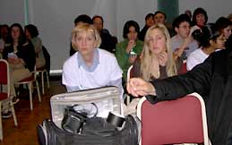Some of the audience