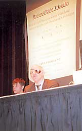 Paul Sally, Arnold Ross Lecturer, 2003