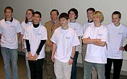Adam, Nick, Miller, Mike Breen (host), Peter, Evan, Edward, Jacob, and Leif