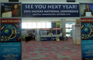 Sign for the 2012 conference