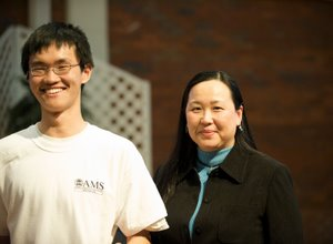 Xiaotian and his mother
