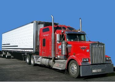 Photo of a large truck