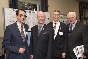 Prof. Robert Ghrist with Rep. Jerry McNerney (CA-9), Rep. Rush Holt (NJ-12) and Rep. Jim Moran (VA-8)