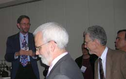 Notices Editor Andy Magid says a few words at the Notices 10th anniversary reception