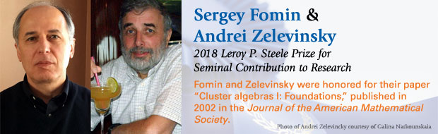 Fomin and Zelevinsky