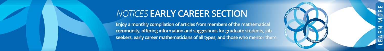 Notices Early Career Information