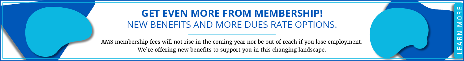 Get even more from membership with new benefits and dues rate optoins