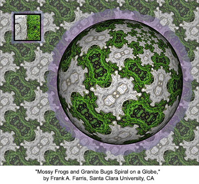Mossy Frogs and Granite Bugs Spiral