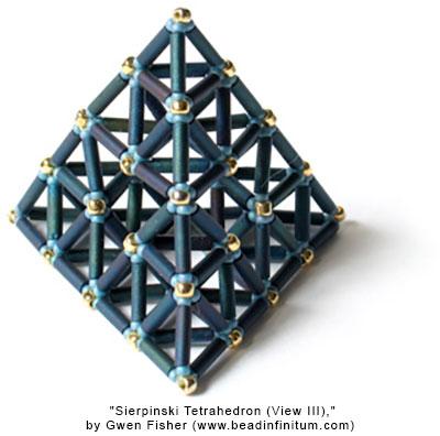 Sierpinski Tetrahedron (View III)