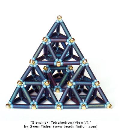 Sierpinski Tetrahedron (View V)