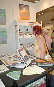 AMS Public Awareness and Membership exhibit