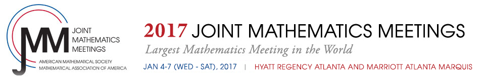 2017 :: Joint Mathematics Meetings :: January 4 - 7