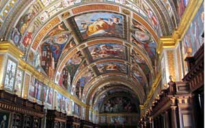The Library at Escorial