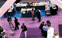 The Exhibit area