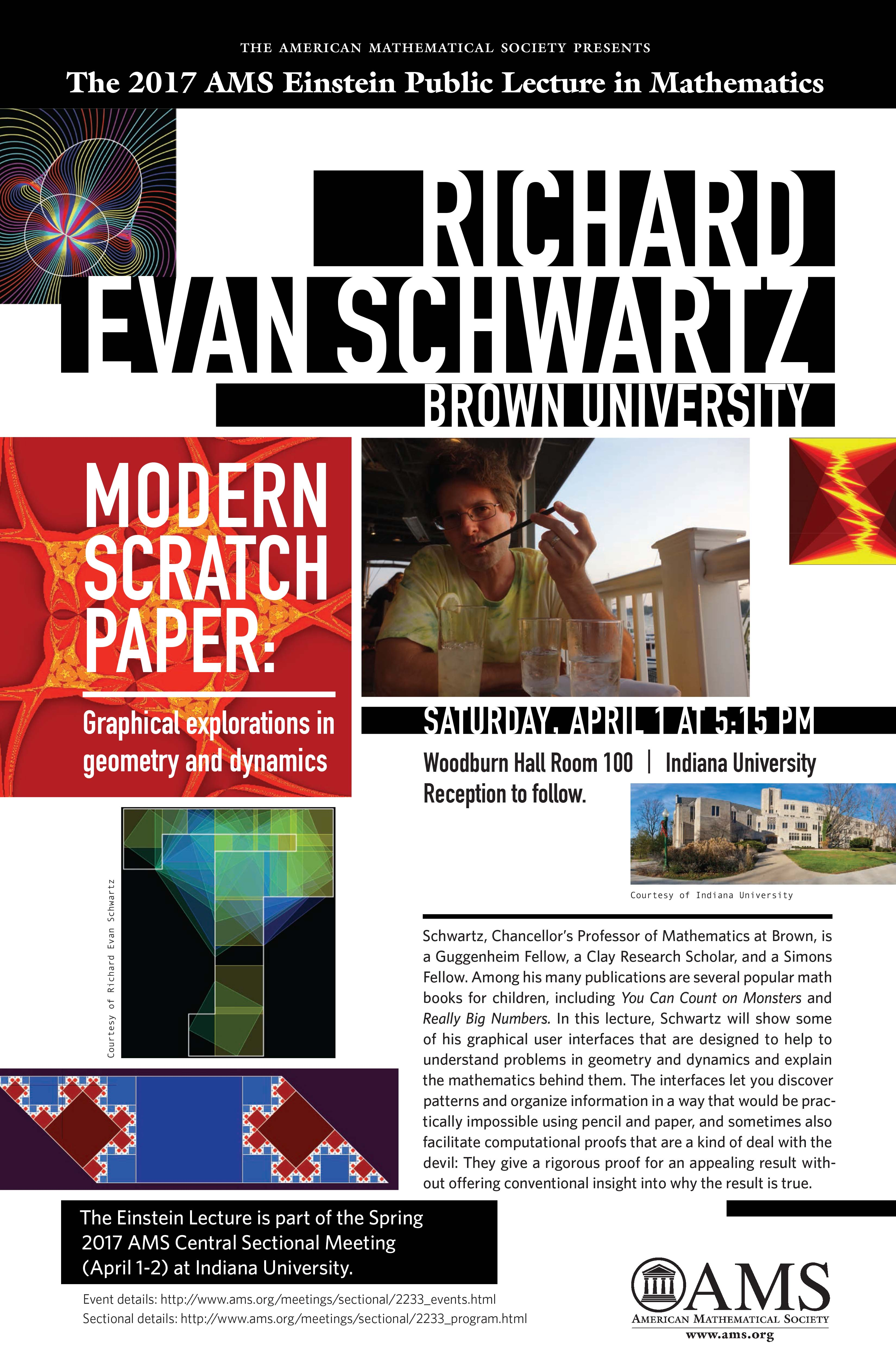 Richard Evan Schwartz Brown University