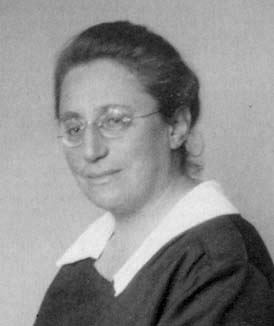 Photo of Emmy Noether
