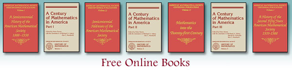 Free Online AMS Books