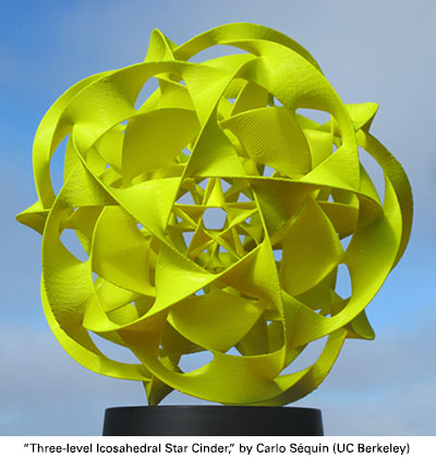 Three-level Icosahedral Star Cinder