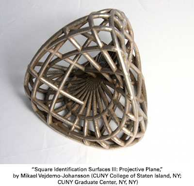 Square Identification Surfaces III: Projective Plane