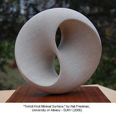 Trefoil Knot Minimal Surface