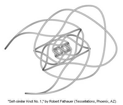Self-similar Knot No. 1