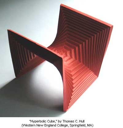 Hyperbolic Cube