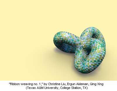 Ribbon weaving no. 1