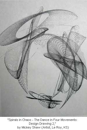 Spirals in Chaos - The Dance in Four Movements: Design Drawing 2