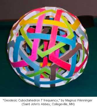 Geodesic Cuboctahedron 7 frequency