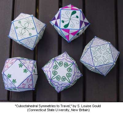 Cuboctahedral Symmetries to Travel