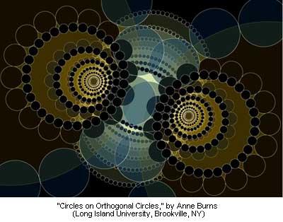 Circles on Orthogonal Circles