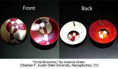 Circle Brooches