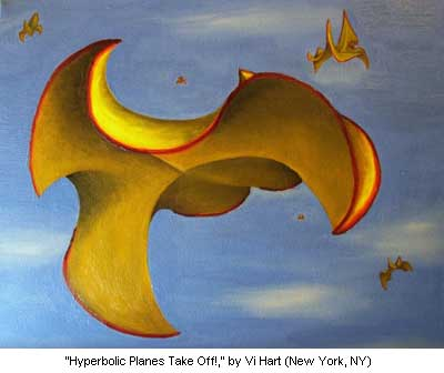 Hyperbolic Planes Take Off!