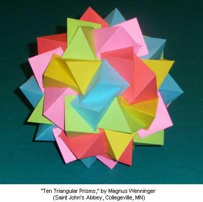 Ten Triangular Prisms