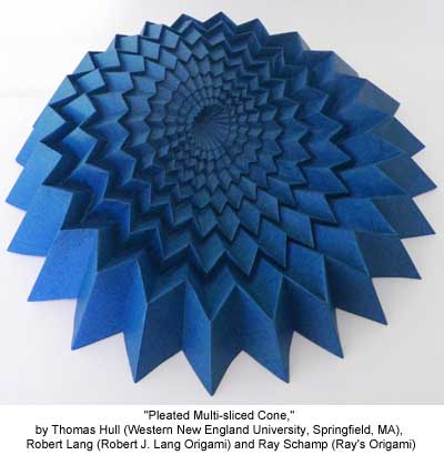 Pleated Multi-sliced Cone